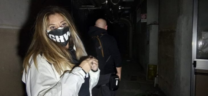 Una nottata da film horror